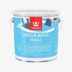 Акрилатна боя за врати, прозорци и мебели Unica Akva Maali