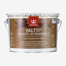 Масло за градинска мебел и декинг - кафяв мат Valtti Kaluste