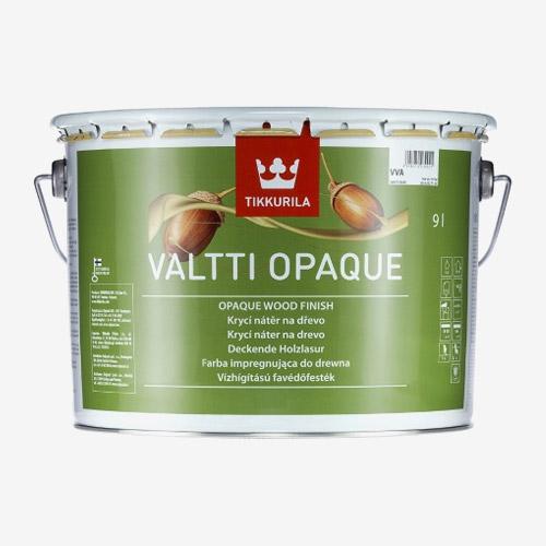 Плътна боя за дървo Valtti Opaque