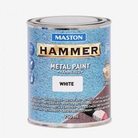 Боя с Hammer ефект бяла HAMMER 750ml