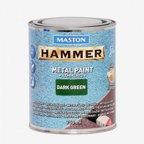 Боя с Hammer ефект зелена HAMMER 750ml
