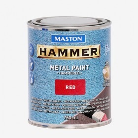 Боя с Hammer ефект червена HAMMER 750ml