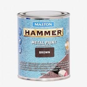 Боя с Hammer ефект кафява HAMMER 750ml