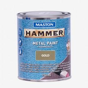 Боя с Hammer ефект златиста HAMMER 750ml