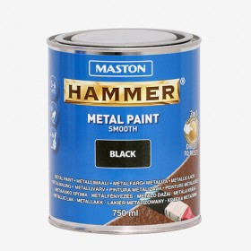 Боя черна гладка HAMMER 750ml