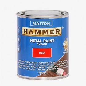 Боя червена гладка HAMMER 750ml
