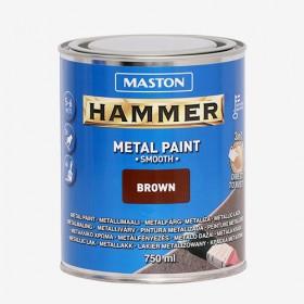 Боя кафява гладка HAMMER 750ml