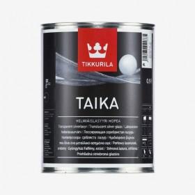 Сребриста перлена глазура Taika