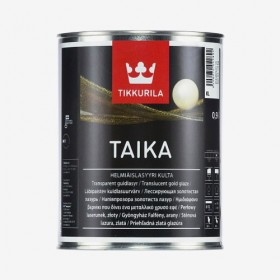 Златиста перлена глазура Taika