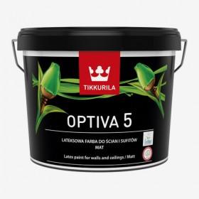 Латекс издръжлив мат Optiva 5