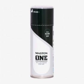 Акрилен спрей ONE RAL9005 черен гланц 400ml